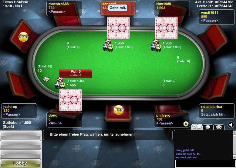 Stargames Poker App